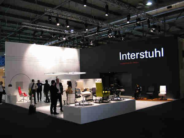 Interstuhl auf dem saloneufficio 2011 - Interstuhl jobs ...