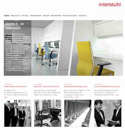 Neuer internetauftritt von interstuhl - Interstuhl jobs ...