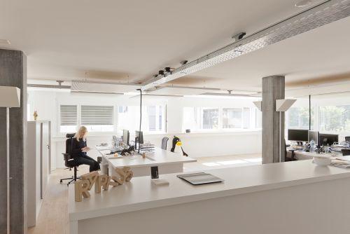 nachtr glicher schallschutz bei agentur raptus bessere akustik f r b ros in lyss. Black Bedroom Furniture Sets. Home Design Ideas