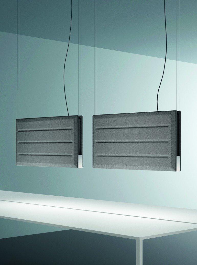 luceplan gibt licht schluckt schall. Black Bedroom Furniture Sets. Home Design Ideas