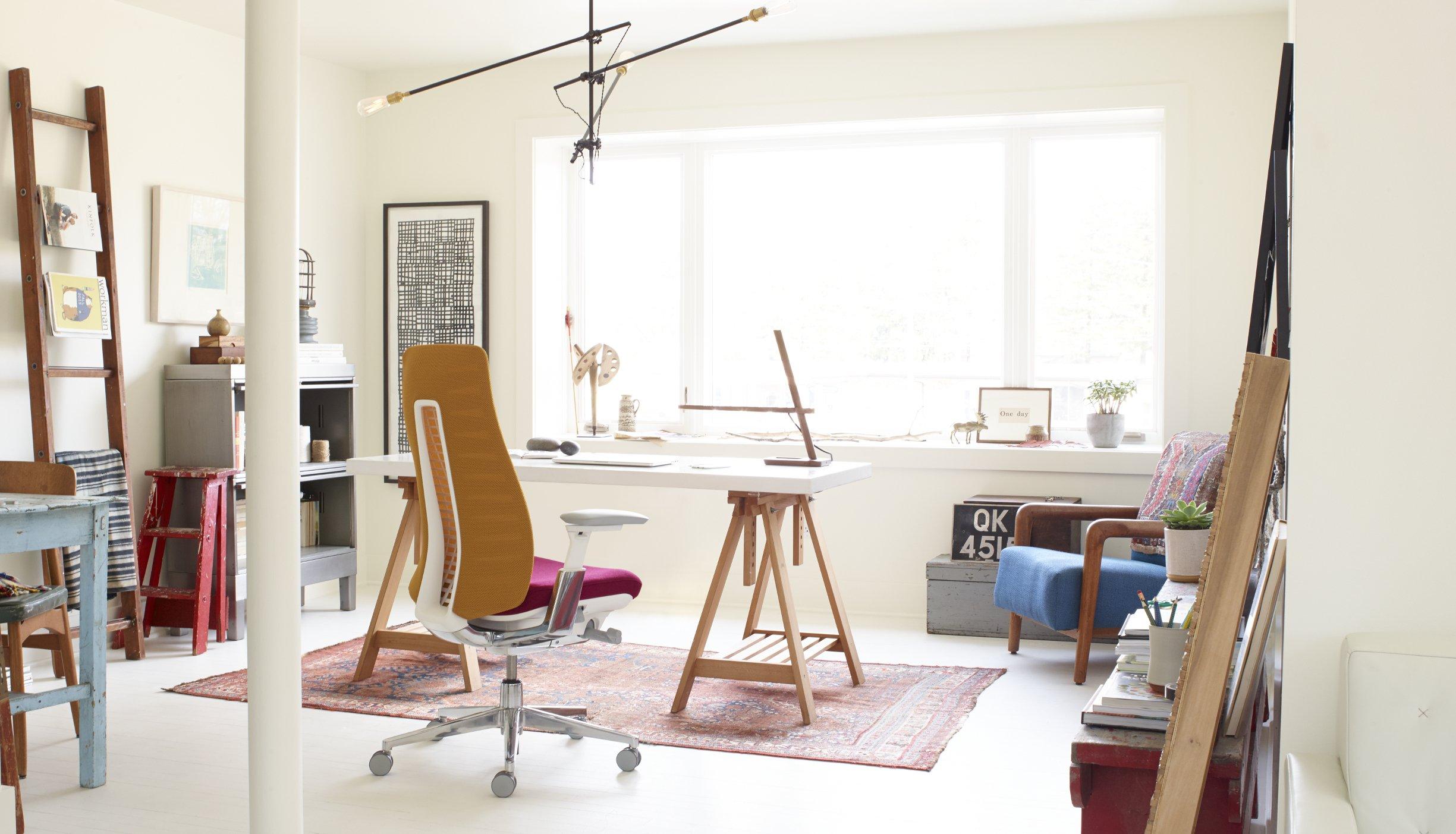 effektiv von zu hause aus arbeiten das perfekte home office. Black Bedroom Furniture Sets. Home Design Ideas