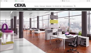 Homepage nach dem Relaunch
