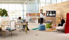 Workware Wireless Software 2.0 and Openest lounge furniture crea