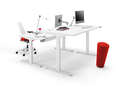 WINI Büromöbel. Steh-Sitz-Einsteiger von WINI